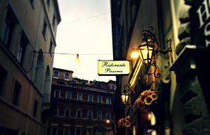 Evening in Rome by PurpleScarecrow