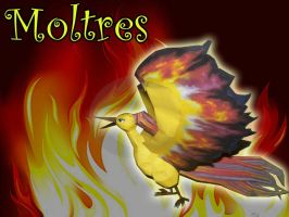 moltres papercraft by rafex17