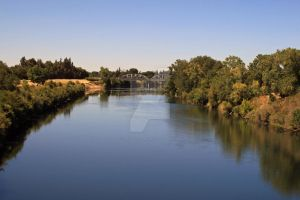 the American river Sacramento by davidlee1965