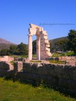 ancient greek monument by IgnGiannioglou17