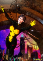 Avengers Wasp (Janet van Dyne) by Agr1on