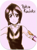 Rukia Kuchiki by 36-May-36