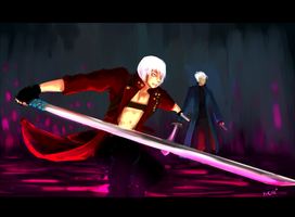 DMC 3  Sword swap by Avibroso