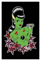 Martini Zombie by tainted-orchid