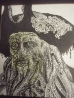 Davy Jones pointalisim by Shukibaby