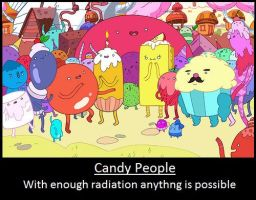 Adventure Time: Candy People Motivational by videodevil2500