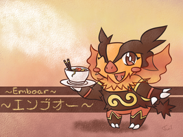 Emboar - Spicy Delicacy by Reshidove