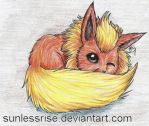 Flareon by SunlessRise
