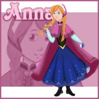 Patch - Anna from Frozen by GracefulTatiana1897