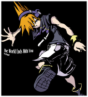The World Ends With You - Neku by RygarX