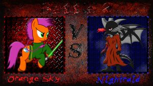 Pony Kombat New Blood 5 Round 1, Battle 2 by Mr-Kennedy92