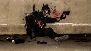 Ghost Warrior (Call of Duty) Cosplay by SPARTANalexandra