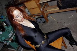 Black Widow captured by lovingthor
