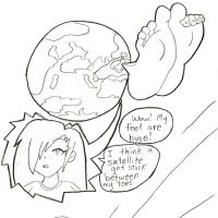 Her feet are out of this world by Jackurai