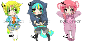 Chibi Adoptables 9 (OPEN) by ChocoRevolution