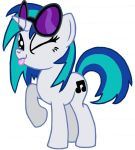 Vinyl Scratch, That Is All. by SilvatheBrony