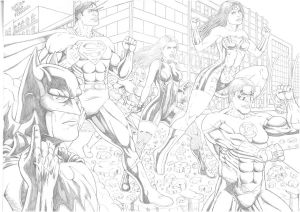 justice league november 2010 by TIAGO-FERNANDES