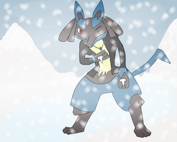 Lucario by x-sellout