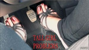 Tall Girl Problems Driving Car by lowerrider
