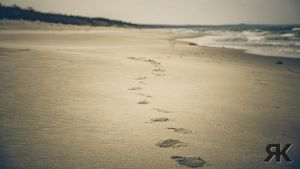 Lonely Footprints by RandomException