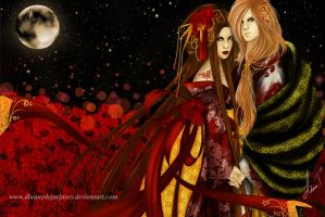 With You Under the Moon Light by DianneDejarjayes