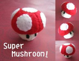 Super Mushroom by Mechashinobi-X