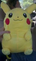 Pikachu backpack by AuraMaster-Lucario