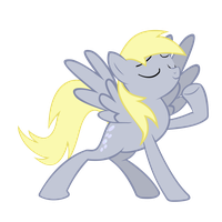 The Majestic Derpy by linas3001