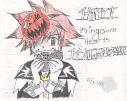 Kingdom Hearts Halloween by the-pink-angel