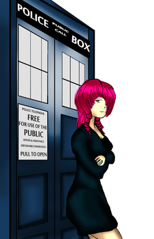 The 14th Doctor by seventhfleet