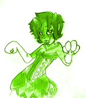 DISNEYSTUCK :Nepeta: by toontownxPARTY