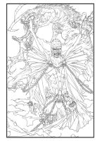 Spawn.. lineART by burukutong