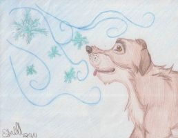 Balto's Winter Wonderland by CanineCanvas