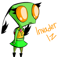 Race for Earth-Invader Iz by JetstormGal