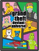 Grand Theft Deviant Universe by backerman