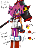 Updated Light Rose ref by XPink-BulletX