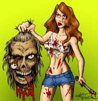 Severed Zed by GleamofDreams