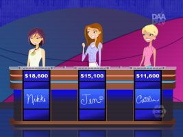 6TEEN on Jeopardy--SEASON 30 REMAKE by daanton