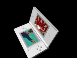 DS Lite Model with shaders - 1 by Wolf-Pup-TK