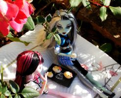 MH: Picnic with BFF by Mistralla