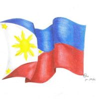 The Flag of the Philippines by xBrooklyNx