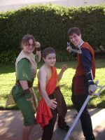 Avatar Cosplay: Toph Aang Jet by AnimeChick009