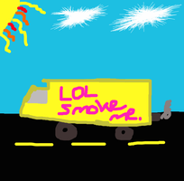 Smoking yellow cars by dogo987