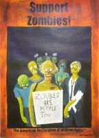 Support Zombies by Shinra-sanne