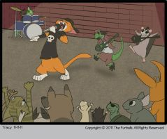 Furballed: National Metal Day by twiggy-trace
