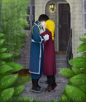 FMA - A kiss under the rain by FerioWind