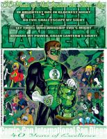 Green Lantern 50th by MartySalsman