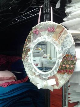 Recycled mirror by Art-Maus