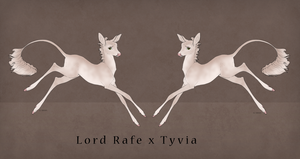 Rafe x Tyvia Fawn Design by IthilFaer