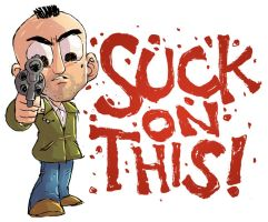 Travis Bickle Sketch by DerekHunter